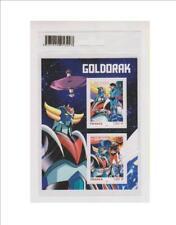 GOLDORAK BLOC de 2 timbres LA POSTE 2021 FRANCE