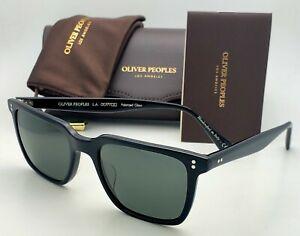 New Lachman Sun OLIVER PEOPLES Polarized Sunglasses OV5419SU 1005P2 Black Frames