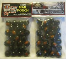 2 Bags Of Mail Pouch Chewing Tobacco Promo Marbles