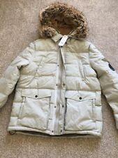 Burton Mens Winter Coat Size Large Beige