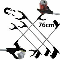5 x PICK UP REACHING TOOL ALUMINIUM MAGNETIC LITTER PICKER GRABBER 76cm MOBILITY