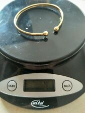 9ct Gold Bangle Hallmarked 375 4grams