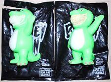 Made by Monster Ron English JPS Bubble B-Rex Grin Vinyl Sofubi New (GID+Normal)