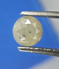 Loose Natural Diamond 0.74TCW Grayish Yellow Round Brilliant cut for Pendant