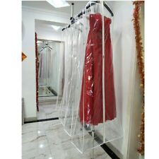 Wedding Bridal Dress PVC Dust Cover Bags Gown Garment Travel Storage Waterproof