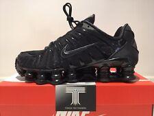 """Nike Shox TL """"Black Pack"""" ~ AV3595 002 ~ Uk Size 12 ~ Euro 47.5"""