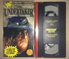 WWF - The Undertaker...He Buries Them Alive! (VHS, 1995) WWE WCW COLISEUM VIDEO