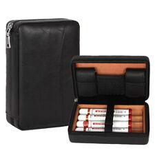 Galiner Travel Cigar Humidor Case Humidifier Box Cedar Tray For Cohiba Cigars