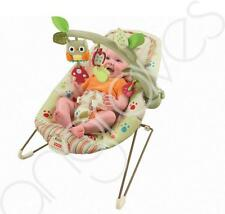 Fisher Price Woodsy Friends Calming Comfy Time Cocoon Bouncer Chair Seat