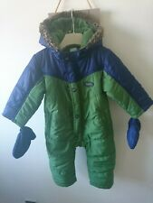 Baker baby boy fleece lined snowsuit 12-18 months great condition