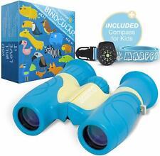 Binoculars for Kids High Resolution 8x21 - Real Optics Compact Kids Binoculars f