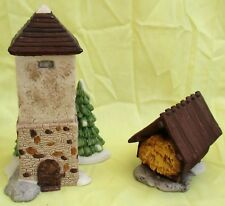 Dept 56 Silo And Hay Shed