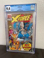X-Force #1 CGC 9.4 Wraparound Gold Ink 2nd Print Edition Marvel Comics 8/91