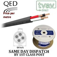 QED Professional PE 4 Core Outdoor Speaker Cable QX 16/4 - Price Per Metre