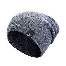Fashion Men's Women Beanie Knit Ski Cap Hip-Hop Winter Unisex Wool Hat 2018 UK