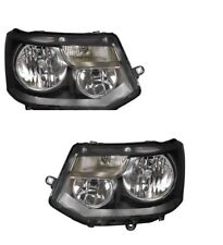 VW TRANSPORTER & CARAVELLE TWIN 2009-2014 HEADLIGHT HEADLAMP 1 X PAIR RIGHT LEFT