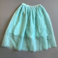 RUBY & BLOOM NORDSTROM Girl's Tulle Skirt Sea Green EUC Size M 8/10 So Pretty