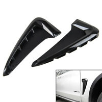Side Body Marker Fender Gloss Black Air Wing Vent Trim M For   X5 F15 2014+