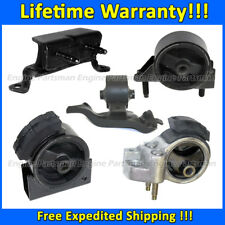 0408 Motor&Trans Mount 5PCS For 90-92 Toyota Corolla 1.6L 2WD AUTO 4 Spd