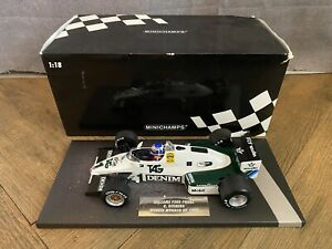 1/18 Minichamps Williams Ford  FW08C Keke Rosberg Winner Monaco G.P. 1983