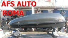 BOX AUTO PORTAPACCHI PORTABAGAGLI G3 HELIOS 400+BARRE PORTATUTTO CITROEN C3 5P.