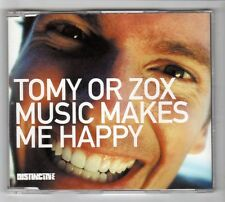 (HC364) Tomy Or Zox, Music Makes Me Happy - 2002 CD