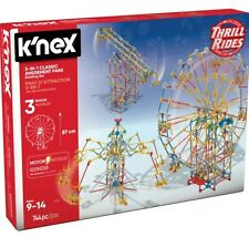 K'NEX Thrill Rides 3-in-1 Classic Amusement Park - Outer box damage