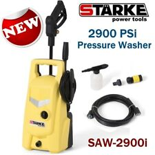 NEW STARKE 2900 PSI HIGH PRESSURE WASHER ELECTRIC WATER CLEANER SAW-2900i RP$395