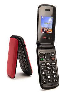 TTsims TT140 Cheapest Flip Mobile Phone Red Folding - 14day