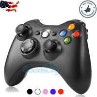 Wireless Game Controller Gamepad for Microsoft XBOX 360 & PC WIN 7 8 10 & PS3