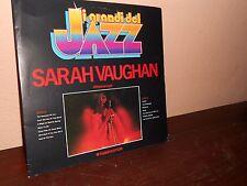 SARAH VAUGHAN-I GRANDI DEL JAZZ-LP-DISCO-VINILE-33 GIRI-MUSICA