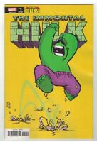IMMORTAL HULK: THE BEST DEFENSE #1 SKOTTIE YOUNG BABY VARIANT COVER  MARVEL/2018