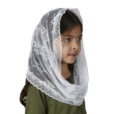 Child's Infinity Chapel Veil - White