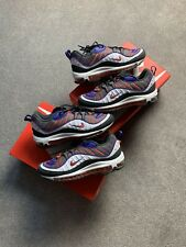 NIKE AIR MAX 98 BLUE / ORANGE SIZE 7.5UK 8.5US 640744 012