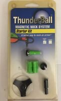 Thunderball Magnetic Nock System Super Uni Green Starter Kit archery arrow nocks
