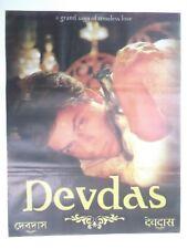 DEVDAS 2006 Shah Rukh Khan Madhuri Dixit Aishwarya Rai  Rare Poster Bollywood