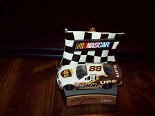 Dale Jarrett #88 Ups 2003 Hanging Ornament Car 1:64 Scale with Display Stand