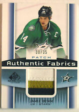 2013/14 JAMIE BENN UD SP GAME USED AUTHENTIC FABRICS 3 CLR PATCH  / 35