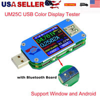 UM25C Color LCD Display Tester Type- C Bluetooth Voltage Current Meter Voltmeter
