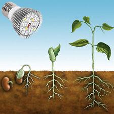 E27 28W 28LED Plant Vegetable Growing Light Lamp Bulb Full Spectrum 110V 220V