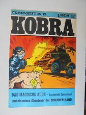 Comic Heft Kobra Nr.13 (1976) eingetütet & geboardet Zustand 2