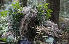 3D Quiet Grass Ghillie suit Yowie Camouflage Head Cover Hood