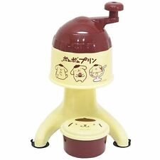 Sanrio Pompompurin Handy Snow Cone Maker/A Cup Is With Ice Making/Shaved Ice/New