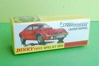 DINKY TOYS ATLAS OPEL GT 1900 REF 1421 NEUF EN BOITE JAMAIS OUVERT ech1/43