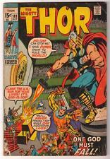 Marvel Comics VG+  THOR  #181 1970  AVENGERS LOKI app