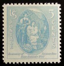 1937 5c Virginia Dare, First Child to English Parents Scott 796 Mint F/VF NH