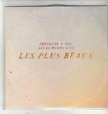 (CW673) Francois & The Atlas Mountains, Les Plus Beaux - 2011 DJ CD