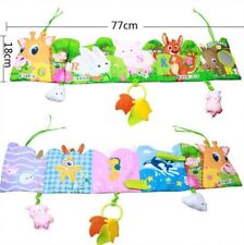 Baby Toys Cloth Book Infant Rustle Sound Educational Newborn Stroller Rattle Toy