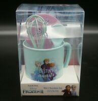 DISNEY Eiskönigen 2 Cappuccino/ Kakao Set  XL Tasse/ Becher Löffel und zubehör