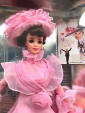 Eliza Dolittle*My Fair Lady* Barbie Hollywood Legends Collection NRFB Pink Gown